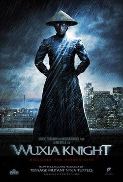 "Filmposter des Wuxia-Movies ""Wuxia Knight"""