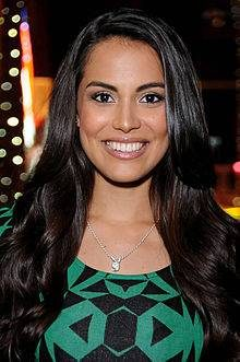 Raquel Pomplun, Los Angeles, California, October 2013 Playmate of the Year 2013 Preceded by Jaclyn Swedberg Personal details:  Born: October 24, 1987 (age 26) San Diego, California Measurements: Bust: 34B Waist: 25 Hips: 36 Height: 5 feet 6 inches (1.68 m) Weight: 123 pounds (56 kg)